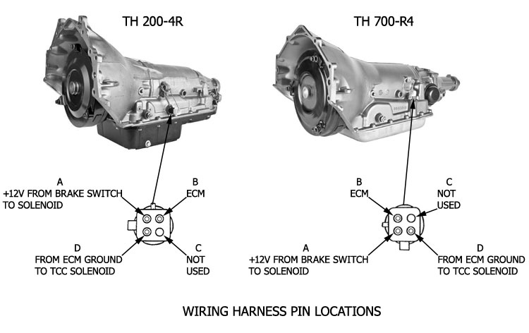 wiring diagram for 700r4 lock up