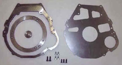 Adapters between engine and transmission