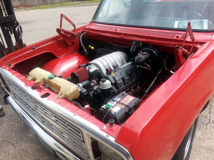 Little Red  Express, Hemi 6.1L Engine
