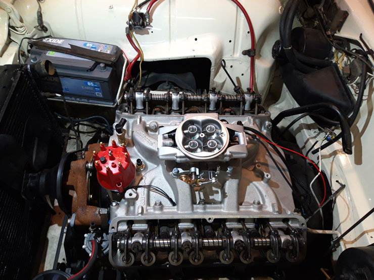 1964 Ford Thunderbird Engine
