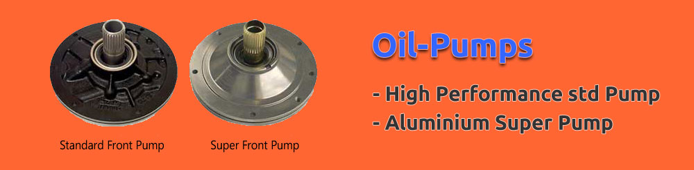 Oil-pumps. High performance std pump. Aluminium super pump.